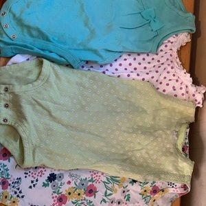 14 piece lot of onesies size 12-18 months